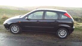 Ford focus lx 1.6 5months mot... great little car runs fine ABS CD PLAYER ALLOYS E/WINDOWS PAS