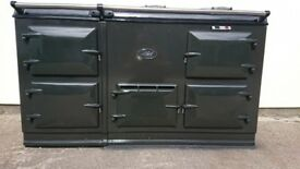 Aga 4 oven 13 amp cooker in grey 2010