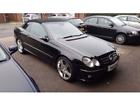 Mercedes clk 350 petrol amg sportpack reduced £5750
