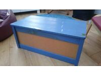 Ikea Wooden Storage Toy Box Chest Trunk