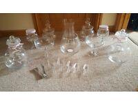 Sweet table glass jars - wedding