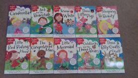 13 Children's books & 2 sets phonics flash cards for sale