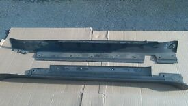 BMW MINI Cooper One S Pair Side Skirts Sill Covers - Left and Right Side 2001- 2006 R50 R52 R53