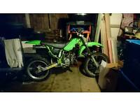 Wanted!! Side panels and rad scoop for kx100 1990