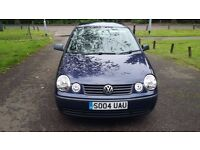 Volkswagen Polo E, 04 MOT July 2017! **50,000 Guaranteed LOW MILES**