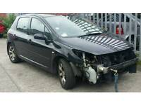 """Peugeot 307 16"""" alloy wheels with new tyres"""