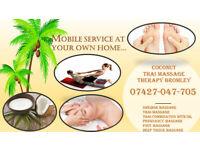 Coconut Mobile Thai massage therapy Beckenham