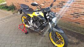 For Sale Yamaha MT07 ABS