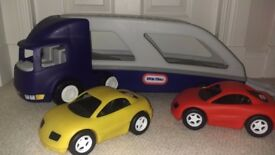 Little Tikes Car Transporter-in excellent condition. SOLD