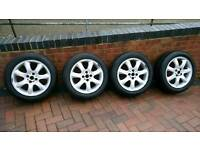 Mini Cooper wheels and Goodyear runflat tyres