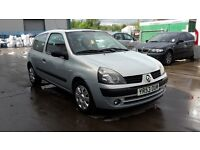RENAULT CLIO EXTREME 1.2, 53 REG 2003, 3 MONTHS WARRANTY, SERVICE HISTORY