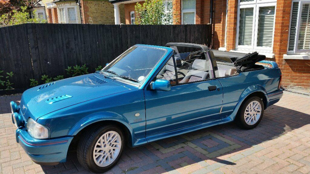 ford escort xr3i cabriolet 1989 in maidstone kent gumtree. Black Bedroom Furniture Sets. Home Design Ideas