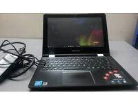 Lenovo Yoga 300 Tablet laptop / 11.6 inch / 4gb ram / 64gb SSD / Intel pentium