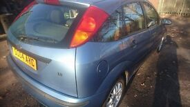 2004 FORD FOCUS 1.8l PETROL, 5dr MANUAL WITH 6mths MOT.