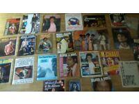 26 x micheal jackson / jacksons books , posters , tour programme ,video