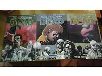 The Walking Dead Graphic Novels volumes 5-7