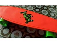 Neon X Skateboard