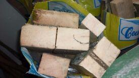 Blocks and logs.