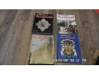 The History of Scotland set of magazines issued by the Sunday Mail nos 1-52