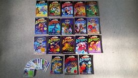 Astrosaurs by Steve Cole, 18 books + collector cards