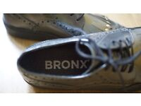 Bronx leather trainers
