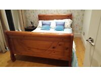 Beautiful Sturdy Wooden Double Bed