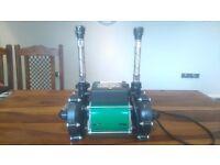 SALAMANDER SHOWER PUMPS X2 CT50 1.5 BAR AND 1.3 BAR