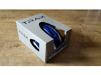 Brand new boxed Trax cycle helmet MISTRAL Large 58-61cm (Blue, Grey, Black)