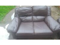 Brown 2&3 Seater Sofas