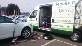 Temporary, general admin role for mobile tyre fitting company
