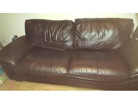 2 n 3 leather sofa free