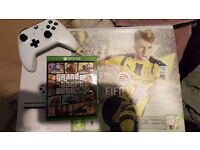Xbox one S 500gb with 2 games
