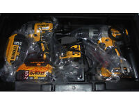 Dewalt Combi Drill and Impact Driver XR 18V Brushless Kit