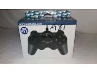 ZedLabz Wired Controller for Sony PS2 Playstation 2- Black