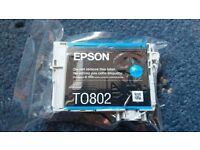 Epson ink cyan