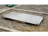 Road plate