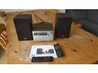 PHILIPS Docking Entertainment System - remote control (CD, DAB, FM, Mp3/USB - iphone dock)
