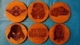 6 Star Wars Coasters