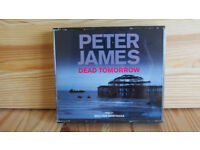 DEAD TOMORROW - AN ABRIDGED AUDIO BOOK BY PETER JAMES