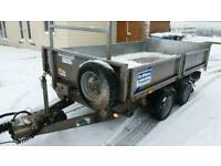 2014 ifor Williams tipping trailer 10x5 3500kg