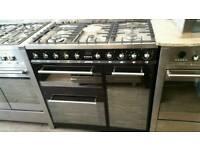 Smeg range cooker dual fuel 90cm
