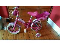 Sweetie girl's bike Ages 3-5