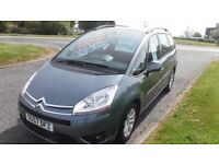 CITROEN C4 PICASSO 7 SEATER 1.6 GRAND VTR PLUS HDi,2007,Alloys,Air Con,Cruise Control,Very Clean FSH