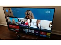SONY BRAVIA 49-inch SUPER SMART ULTRA SLIM 4K HDR ANDROID LED TV,Freeview & FREESAT,GREAT CONDITION