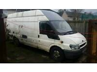 Ford transit t350 115 lwb jumbo high top 2005 breaking for parts