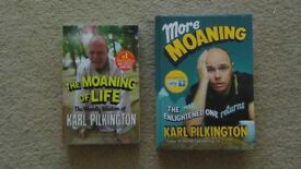 THE MOANING OF LIFE & MORE MOANING BY KARL PILKINGTON