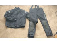 Rukka Size 58 Jacket and Trousers Matching Goretex Waterproof Cordura Gear