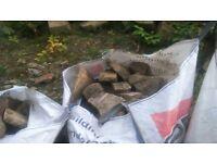 rockery stone bulk bag of rockery walling stone 1 tonne bulk bag abbey village