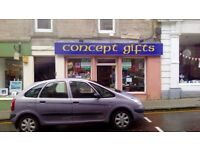 Commercial shop available TO LET in Nairn, IV12 4DB £368.33 PM. (£85.00 PW)