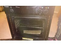 Electric oven with hob in good working order